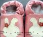 最新时尚可爱秋冬保暖宝宝皮棉鞋(图)